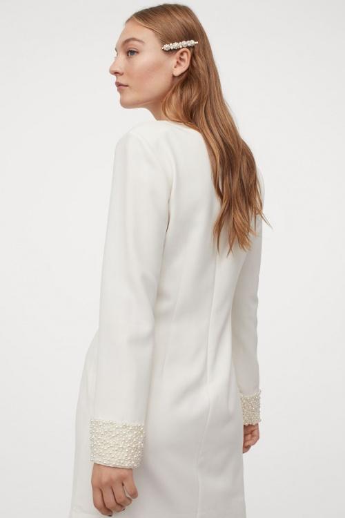H&M - Robe avec détails perles