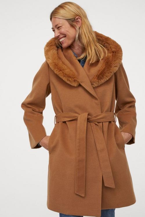 H&M - Manteau à capuche