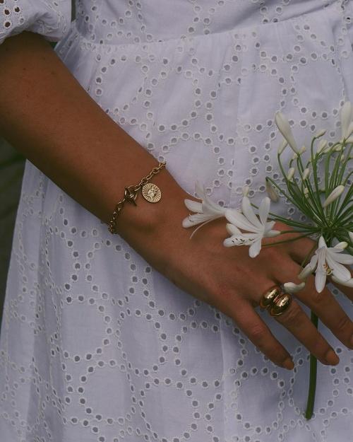 Daisy - Bracelet chaîne