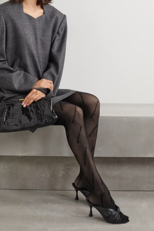 Balenciaga - Collants à logo