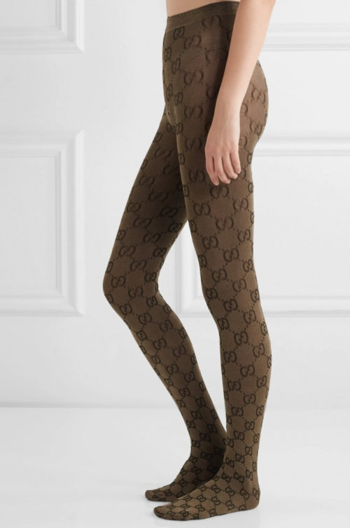 Gucci - Collants en maille jacquard