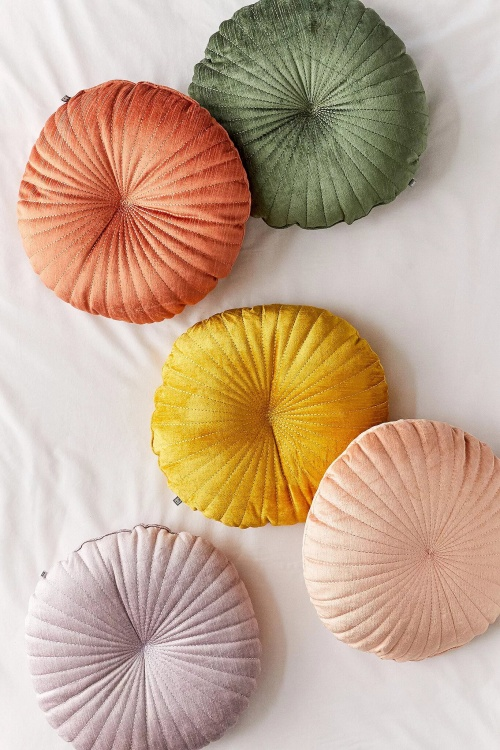 Urban Outfitters - Coussin coquillage rond