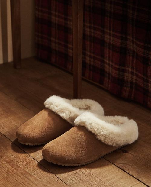 Zara Home - Chaussons bimatière