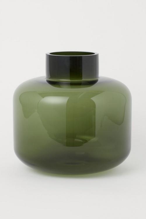 H&M Home - Grand vase en verre