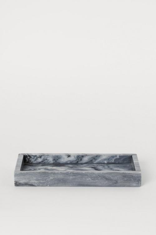 H&M Home - Plateau en marbre