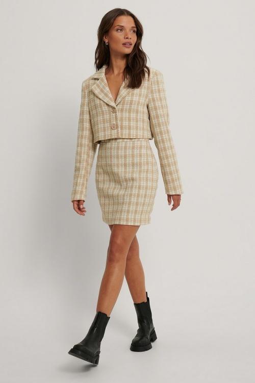 Na-KD - Jupe en tweed