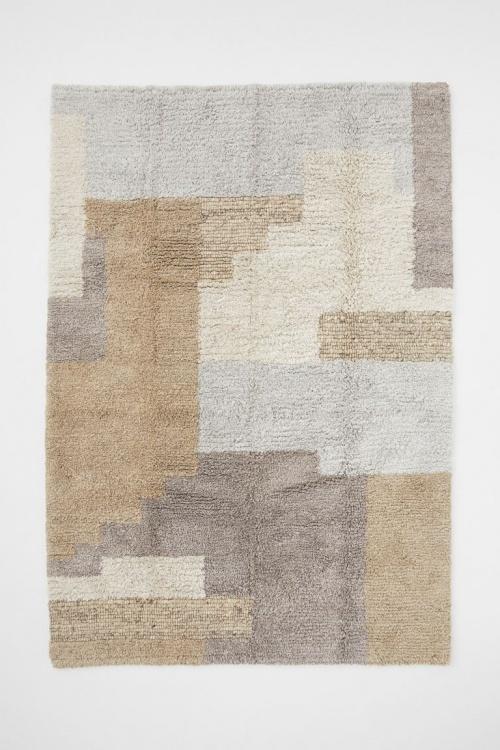 H&M Home - Tapis en laine mélangée