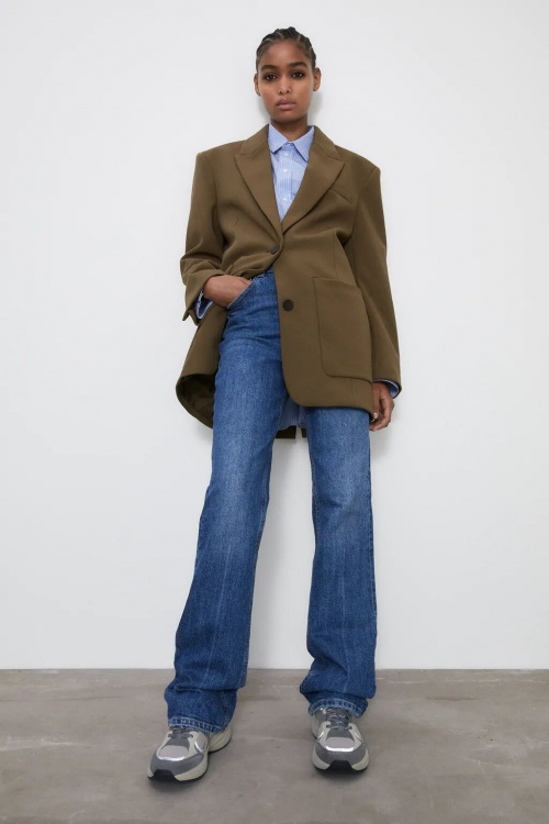 Zara - Veste extra longue
