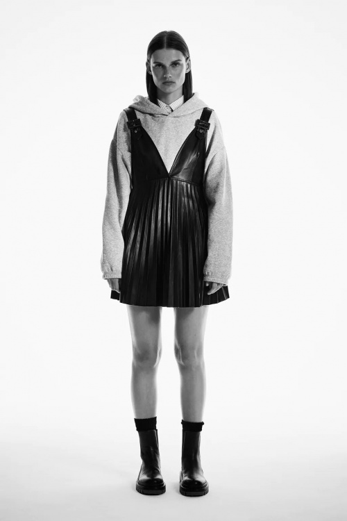 Zara - Jupe style robe-salopette