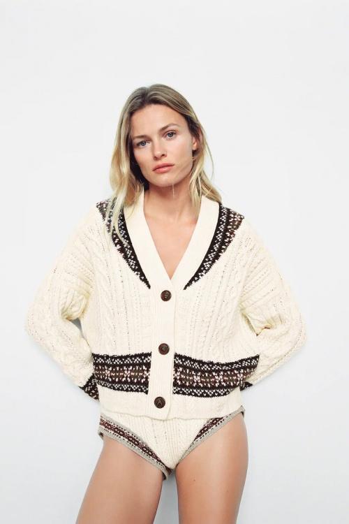 Zara - Gilet oversize