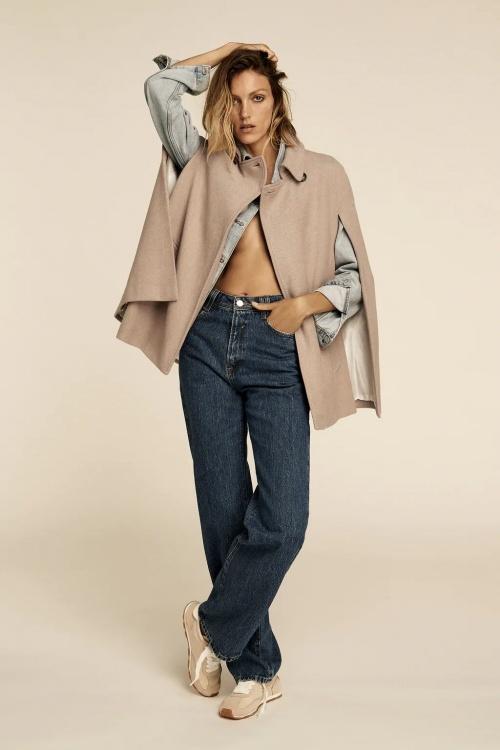 Zara - Manteau cape