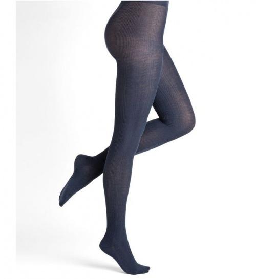 Bleuforêt - Collants torsadés