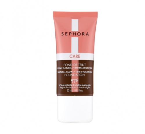 Sephora Collection - Care Make-Up Fond De Teint Éclat Naturel + Hydratation 10 H