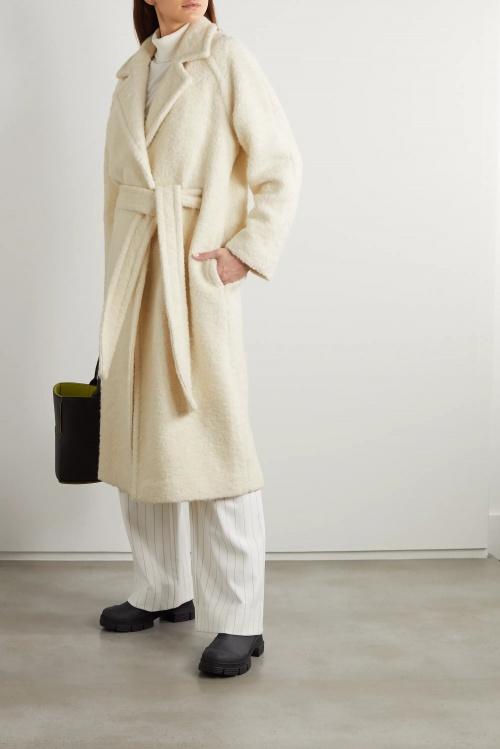 Ganni - Manteau en laine
