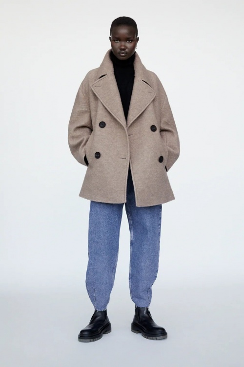 Zara - Manteau oversize en laine