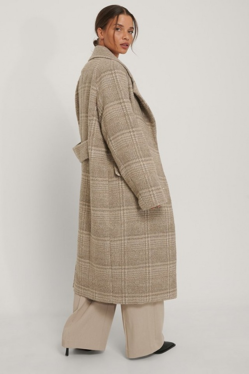 Na-KD - Manteau à carreaux