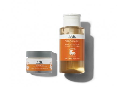 Ren Clean Skincare - Duo Glow Jour Et Nuit