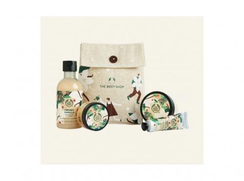 The Body Shop - Pochette Festive Vanille Gourmande