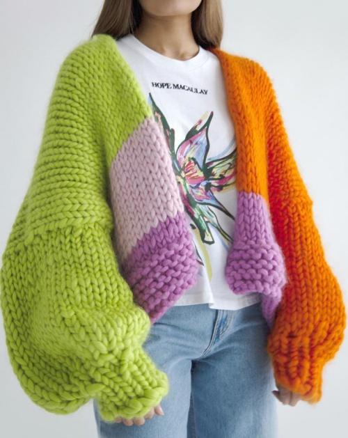 Hope Macaulay - Gilet en grosse laine