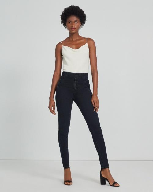J Brand - Jean skinny taille haute