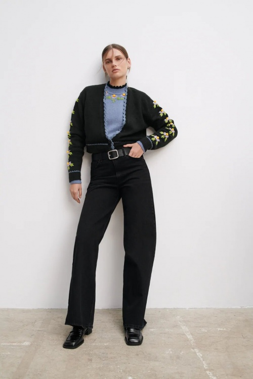 Zara - Veste en maille