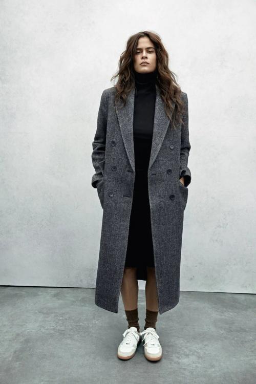 Zara - Manteau masculin en laine
