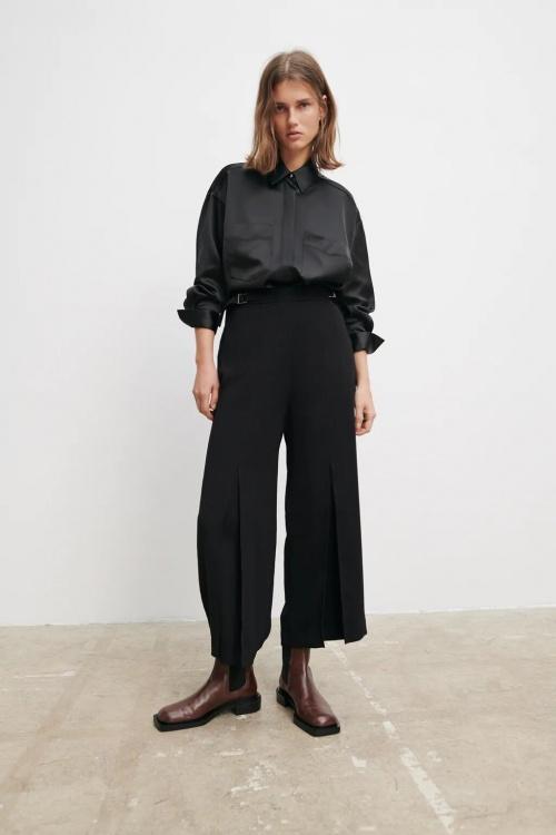 Zara - Pantalon jupe-culotte