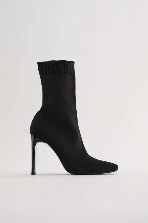 Zara - Bottines à chaussettes