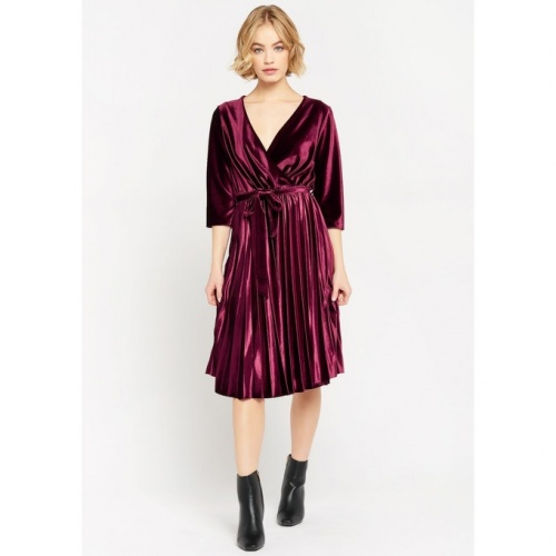 Lolariza - Robe plissée