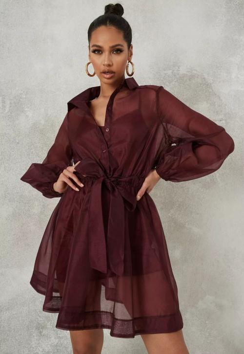Missguided - Robe en organza