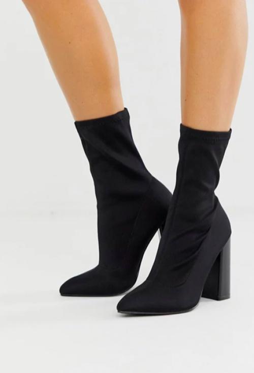 Public Desire - Bottines chaussettes