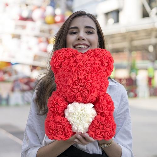 AliExpress - Nounours en roses