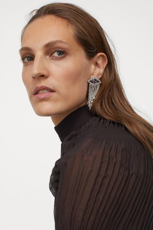 H&M - Boucles d'oreilles avec strass