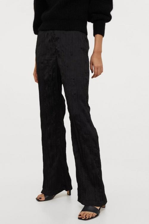 H&M - Pantalon ample en satin