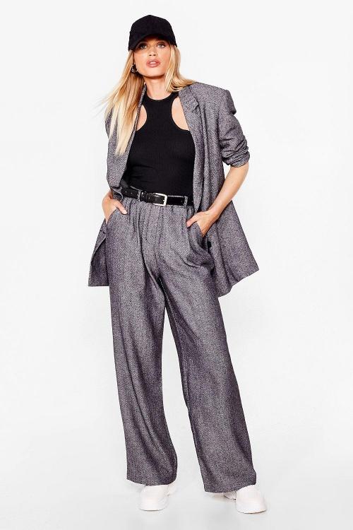 Nasty Gal - Pantalon large d'ensemble