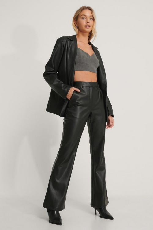 Na-kd - Pantalon en simili cuir