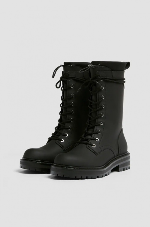 Pull & Bear - Bottines à lacets