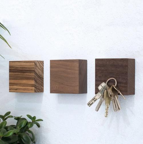 Les Raffineurs -  Cubes en bois magnétiques