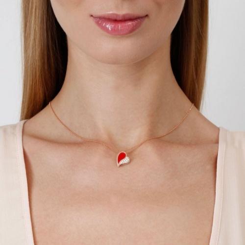 Roberto Coin - Collier pendentif coeur