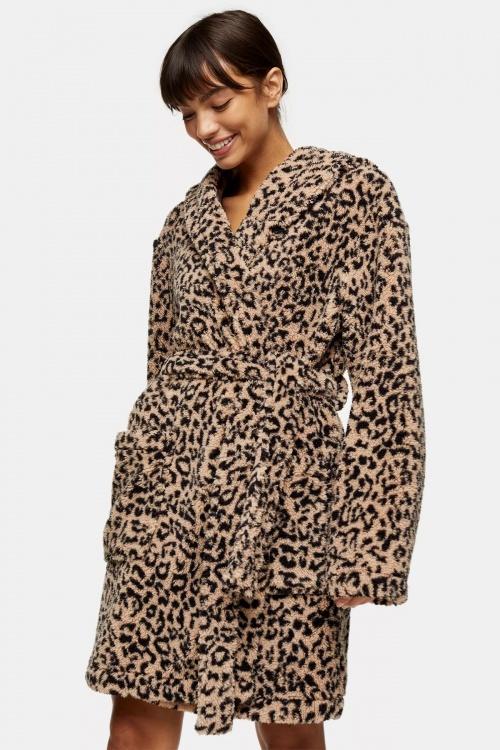 Topshop - Peignoir léopard