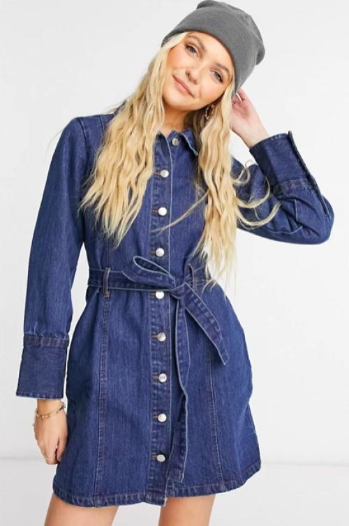 Wednesday's Girl - Robe courte en jean