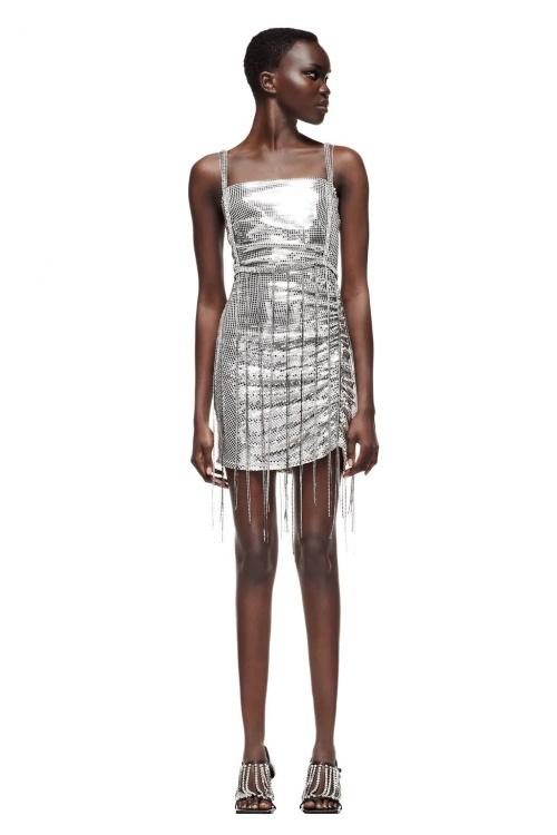 Zara - Robe courte brillante