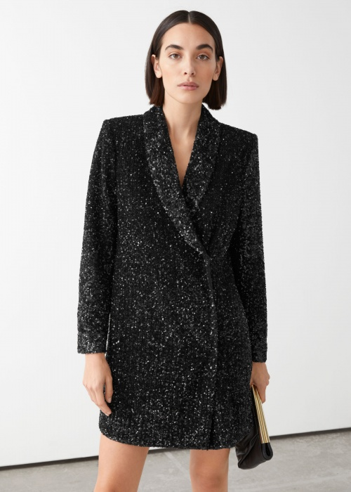 &Other Stories - Blazer à sequins