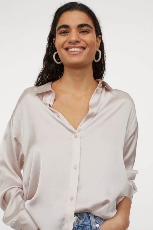 H&M - Blouse en satin
