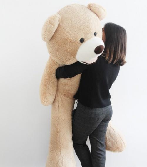 Francis l'ours en peluche géant