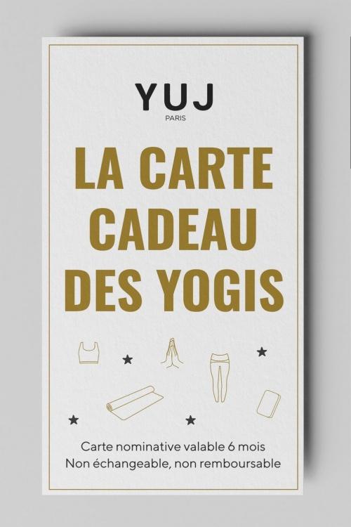 Carte cadeau des yogis YUJ