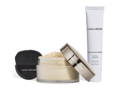 Laura Mercier - Exclusive Pure Canvas Primer and Translucent Loose Setting Powder Glow Set