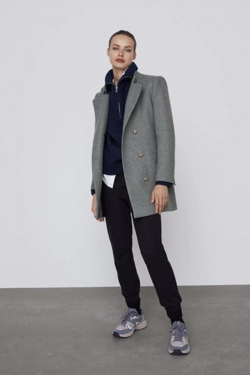 Zara - Manteau en laine