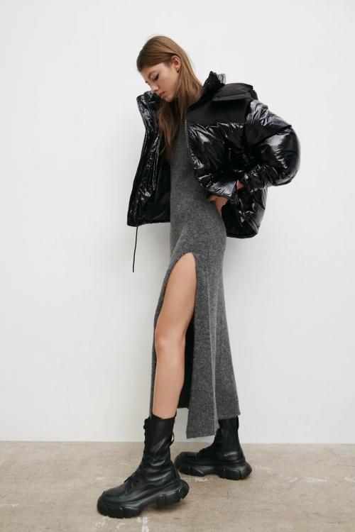 Zara - Veste bimatière