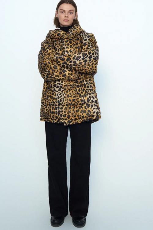 Zara - Manteau imprimé